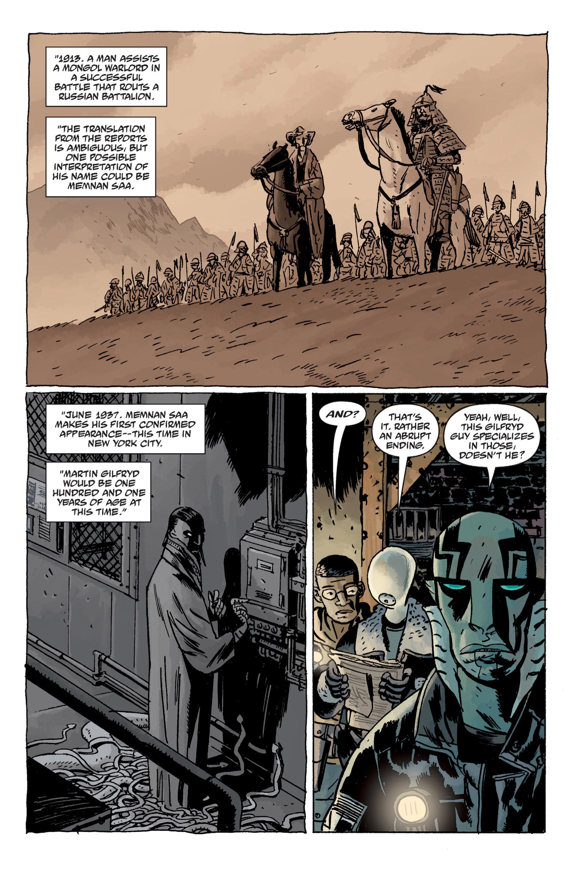 Read online B.P.R.D. (2003) comic -  Issue # TPB 11 - 20