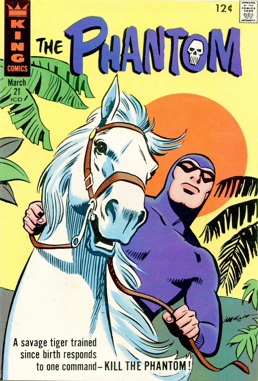 The Phantom (1966) issue 21 - Page 1