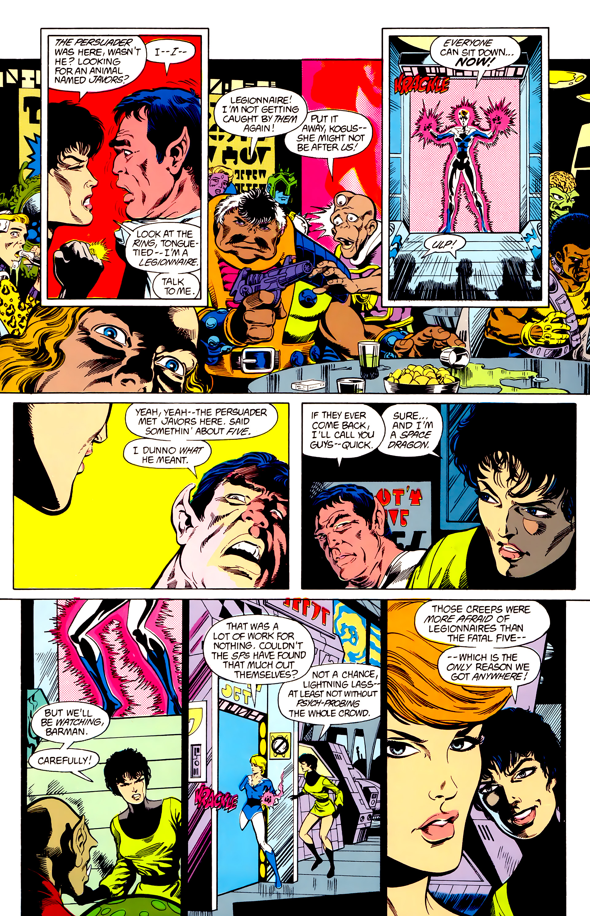Legion of Super-Heroes (1984) 23 Page 8
