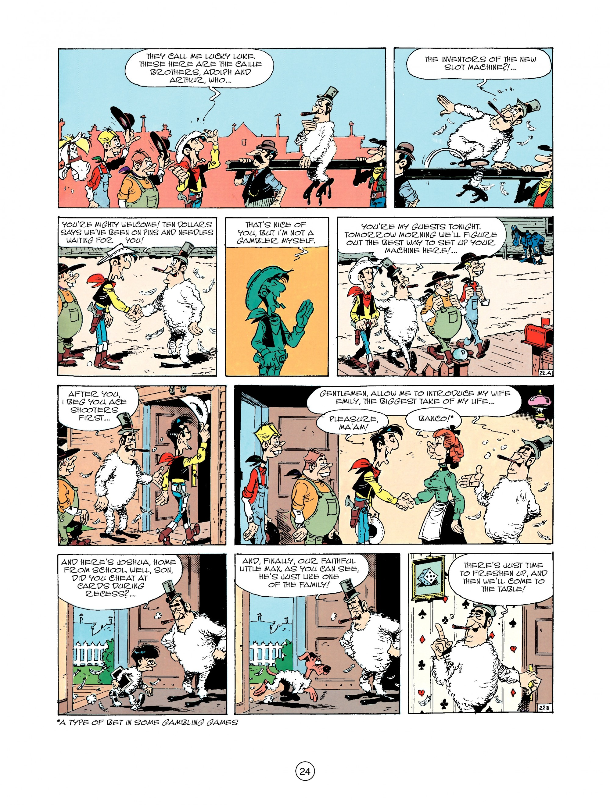 Read online A Lucky Luke Adventure comic -  Issue #33 - 24