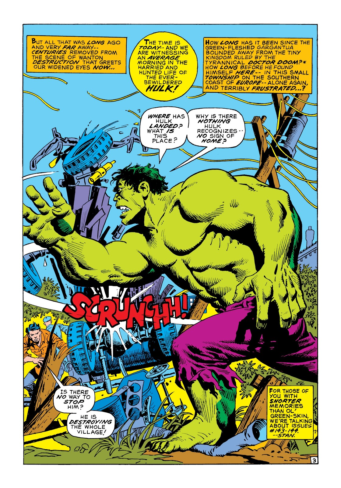 Read online Marvel Masterworks: The Incredible Hulk comic -  Issue # TPB 8 (Part 1) - 10