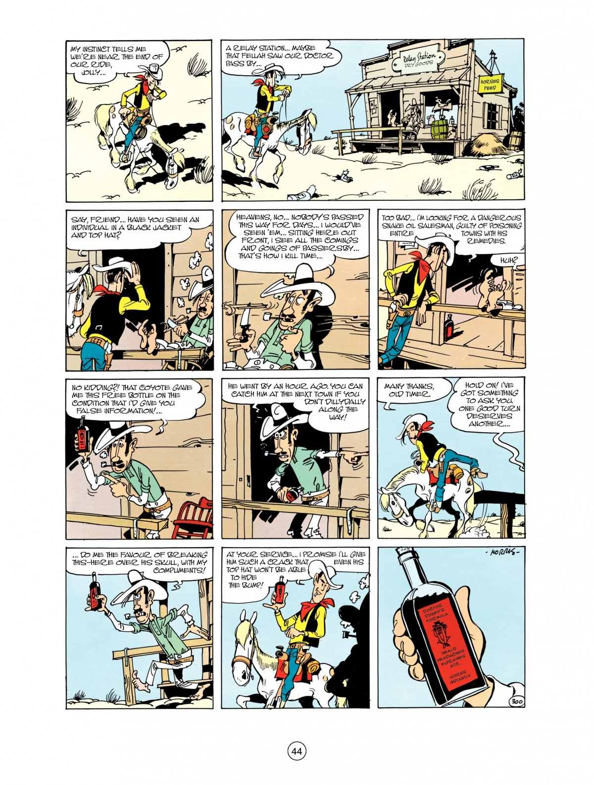 Read online A Lucky Luke Adventure comic -  Issue #38 - 44