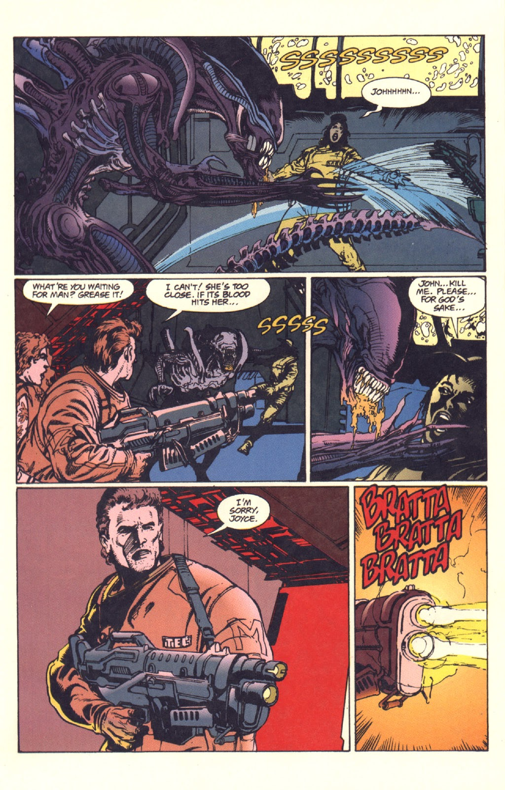 Read online Aliens: Rogue comic -  Issue #1 - 97