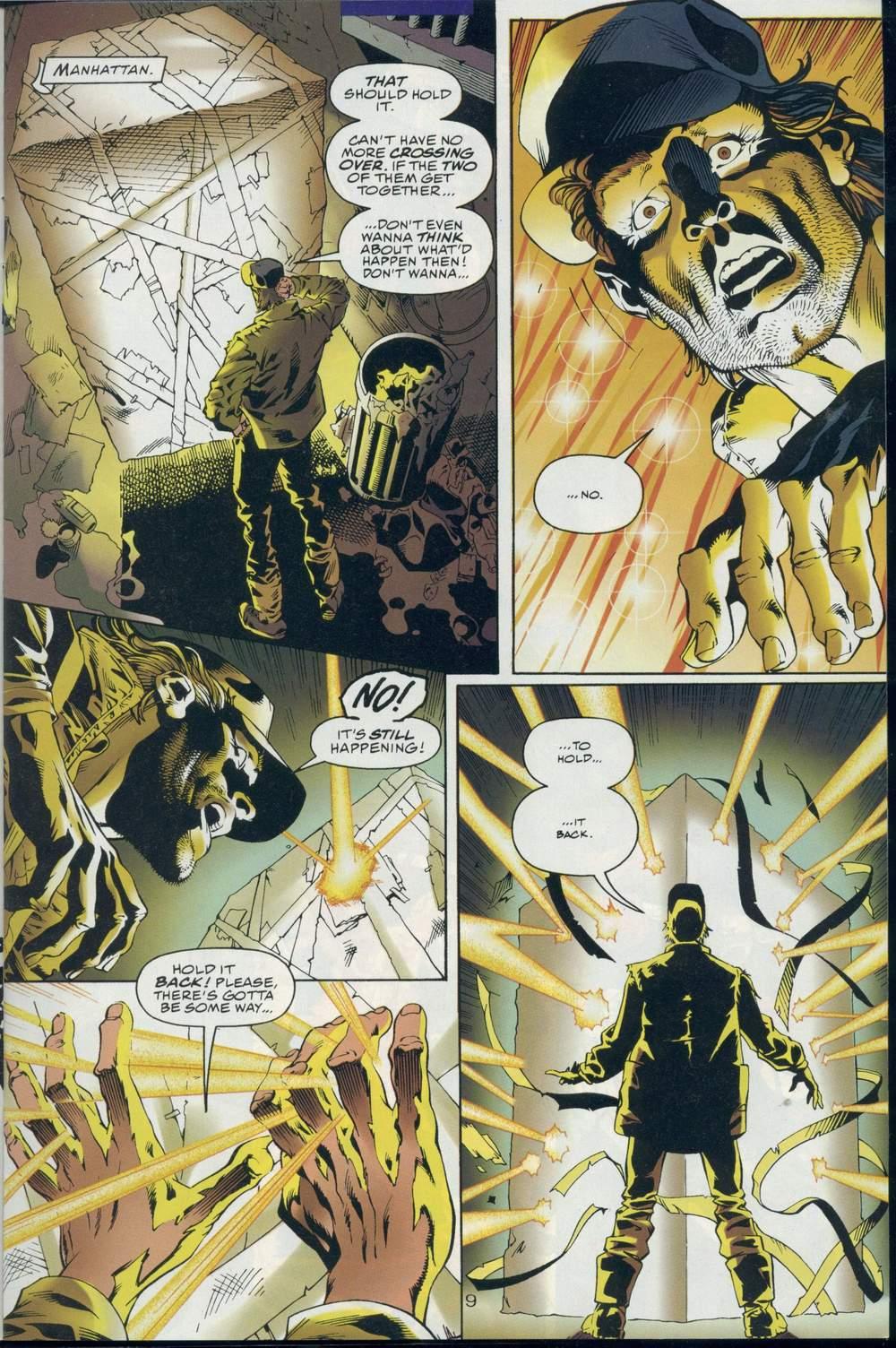 Read online DC Versus Marvel Comics comic -  Issue #1 - 11