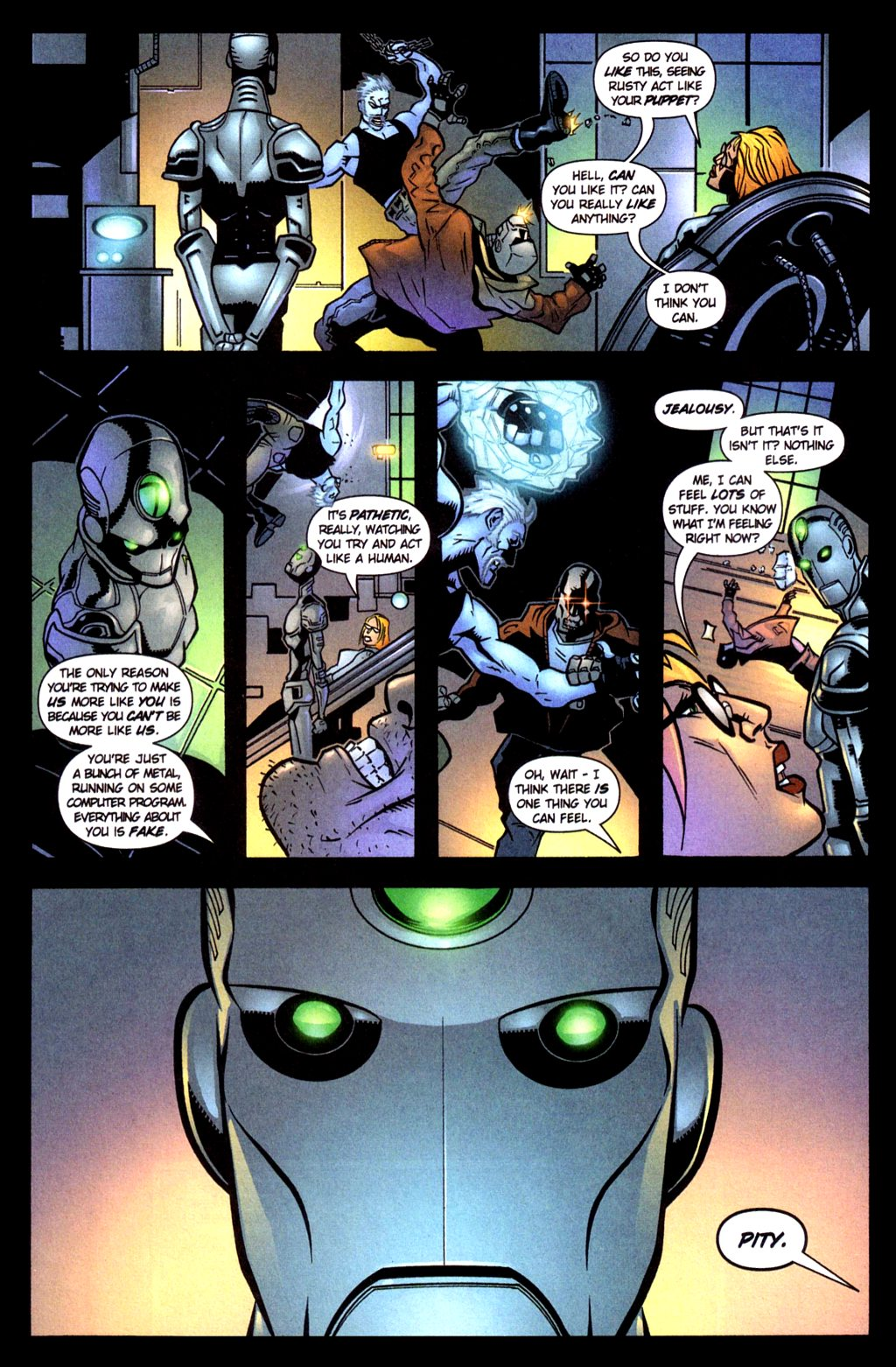 Read online Noble Causes (2002) comic -  Issue #4 - 12