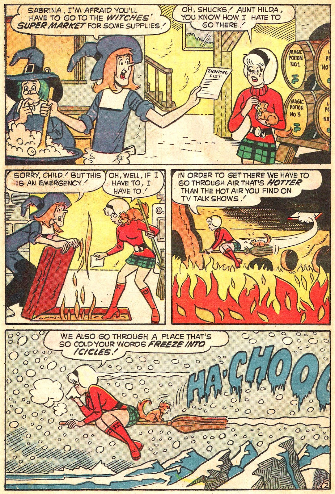 Sabrina The Teenage Witch (1971) Issue #20 #20 - English 14