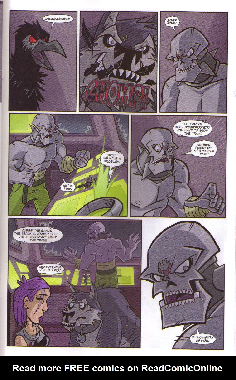 Read online Xombie Reanimated comic -  Issue #5 - 33