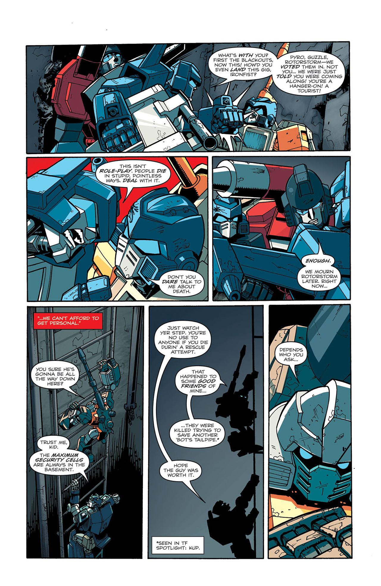 Read online Transformers: Last Stand of The Wreckers comic -  Issue #3 - 21