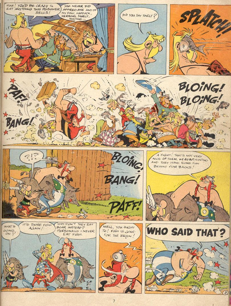 Read online Asterix comic -  Issue #22 - 4