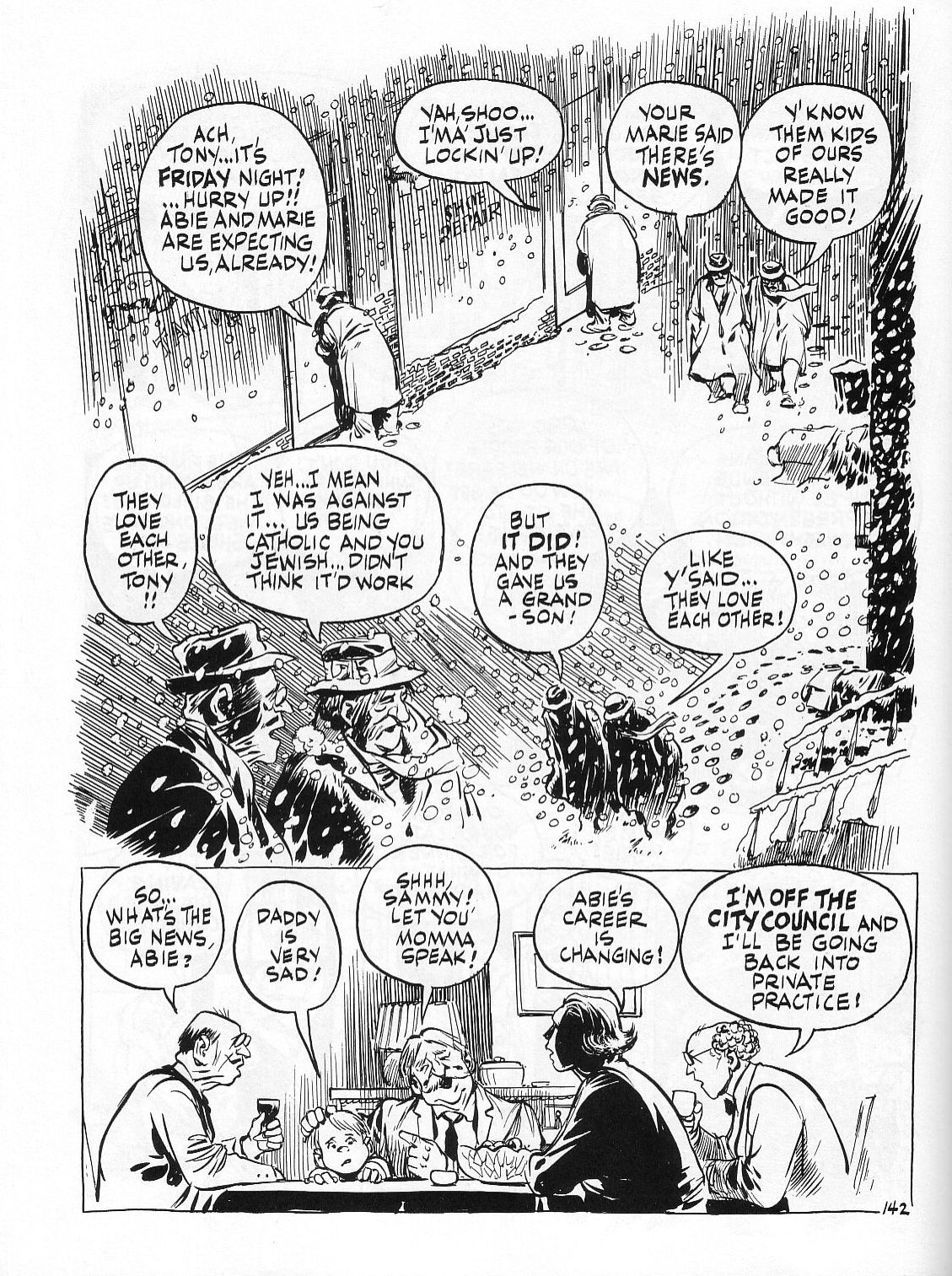 Read online Dropsie Avenue, The Neighborhood comic -  Issue # Full - 144