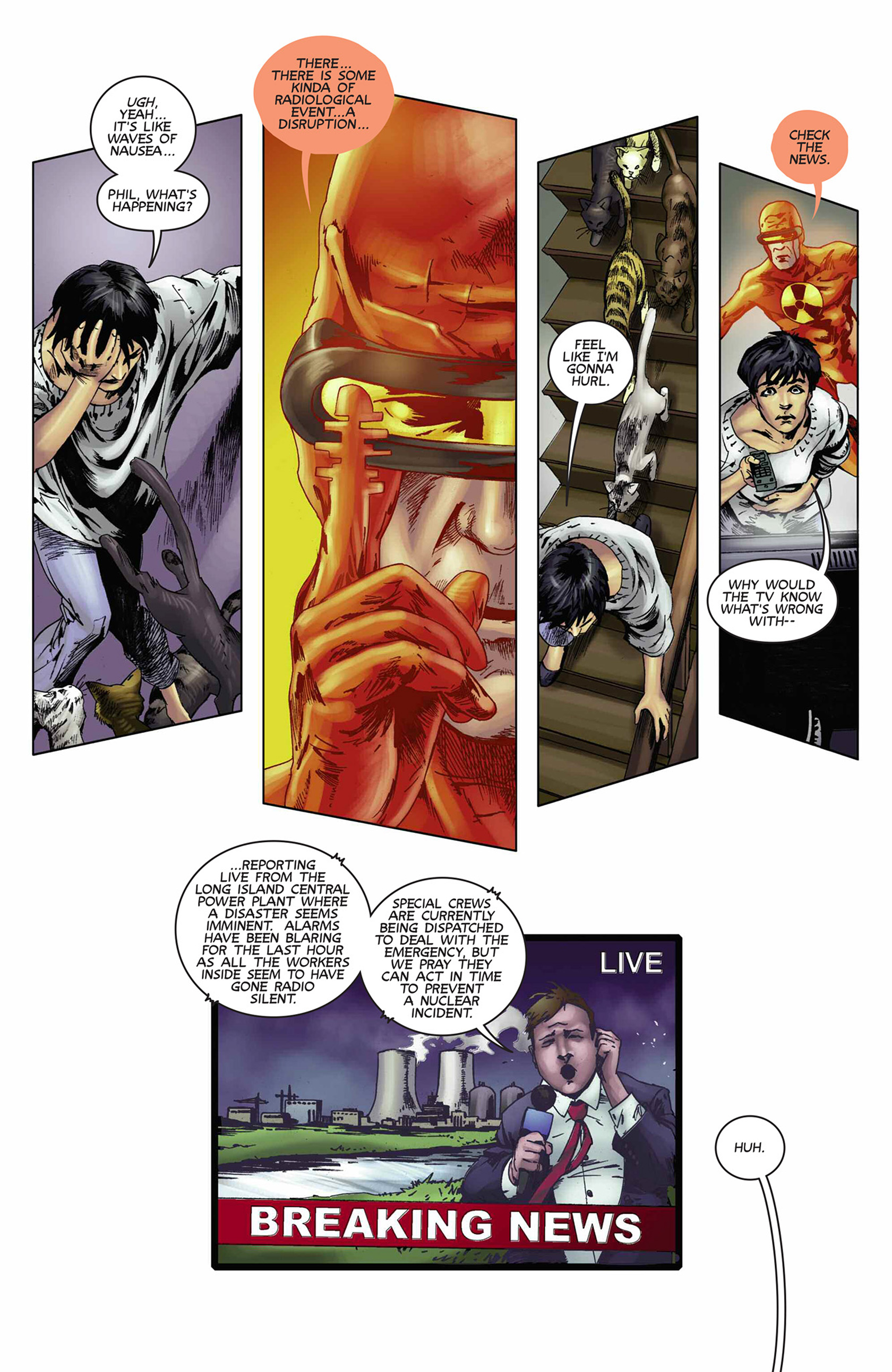 Read online Solar: Man of the Atom (2014) comic -  Issue #9 - 14