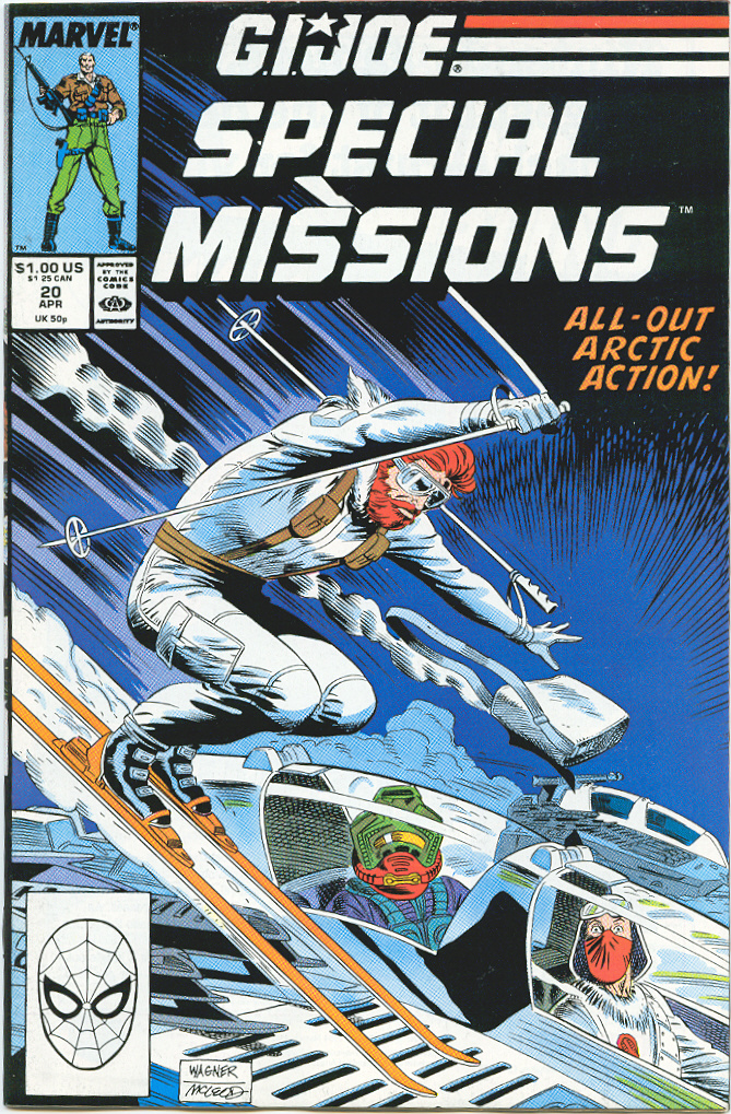 G.I. Joe Special Missions 20 Page 1