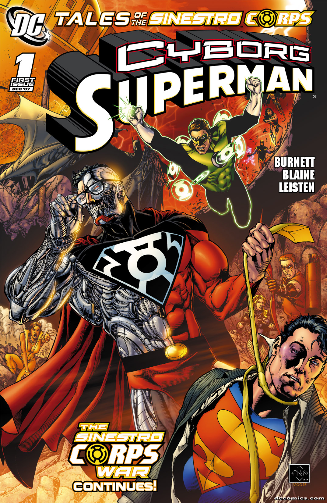 Tales of the Sinestro Corps: Cyborg Superman Full Page 1