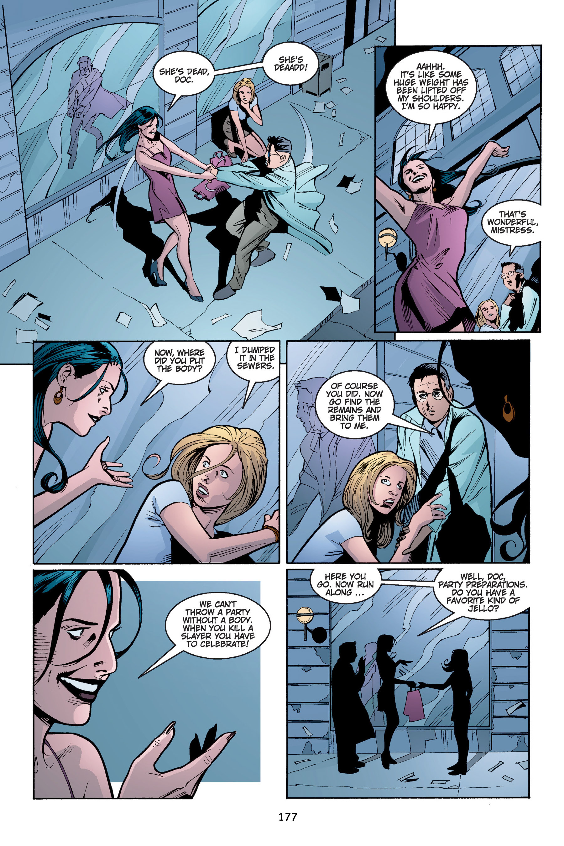 Read online Buffy the Vampire Slayer: Omnibus comic -  Issue # TPB 4 - 178