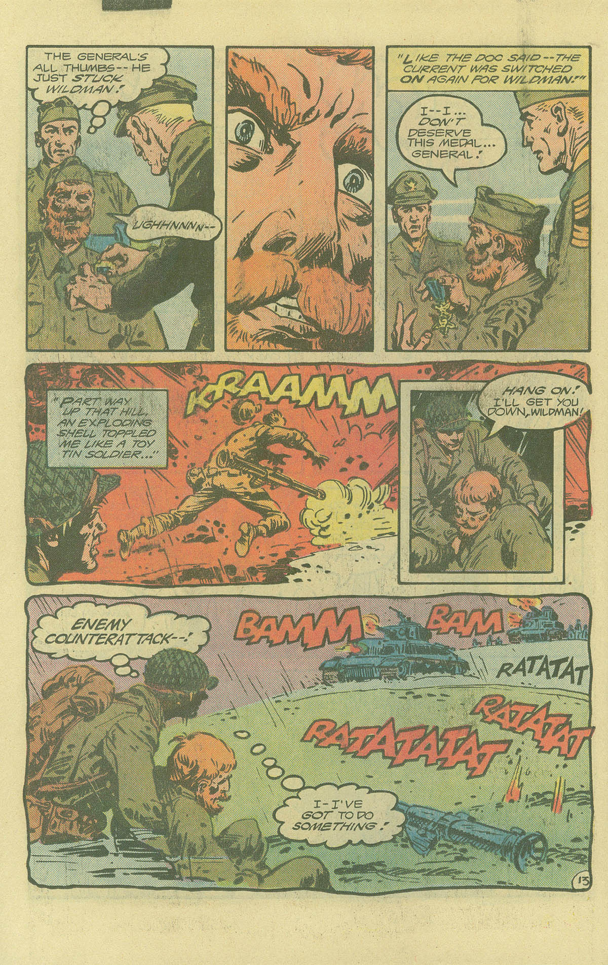 Read online Sgt. Rock comic -  Issue #402 - 17