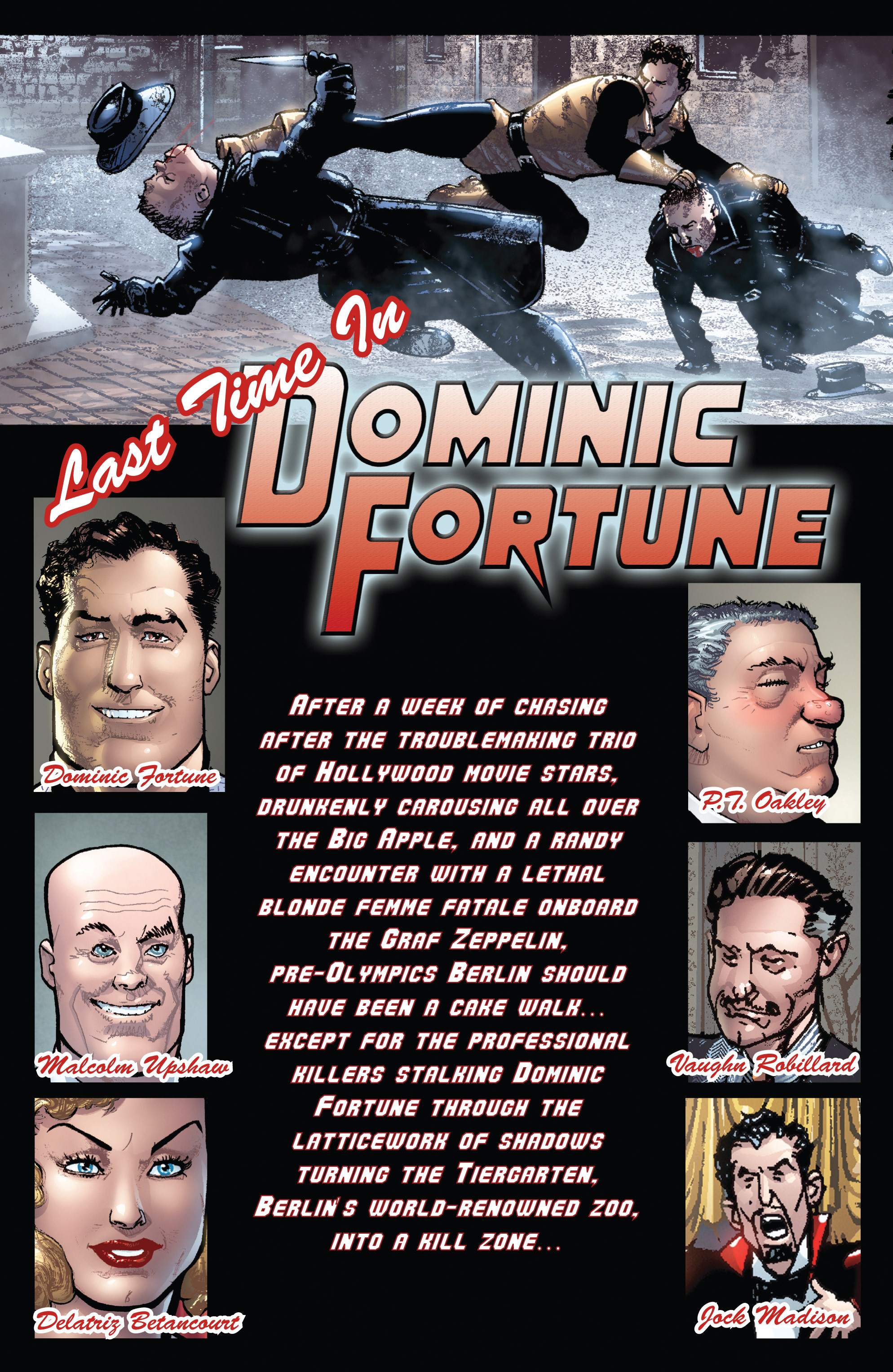Read online Dominic Fortune comic -  Issue #3 - 2