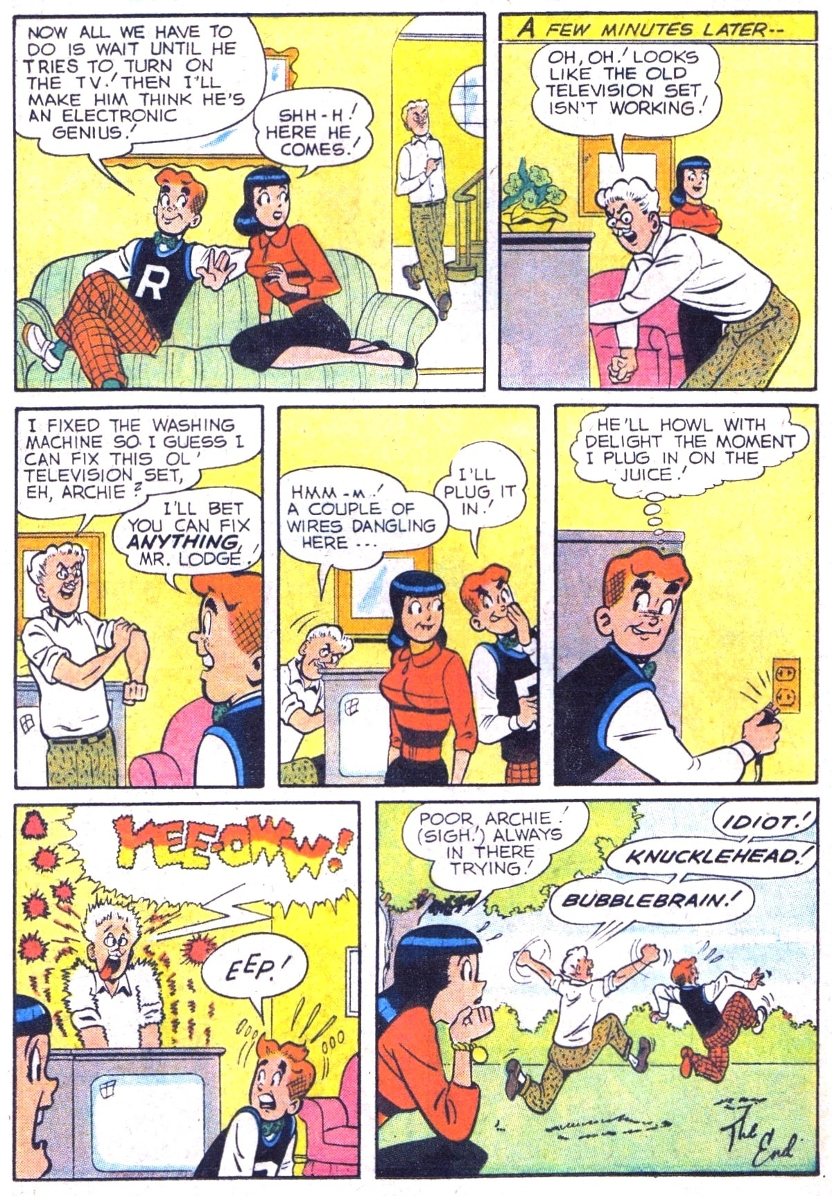 Read online Archie (1960) comic -  Issue #116 - 24