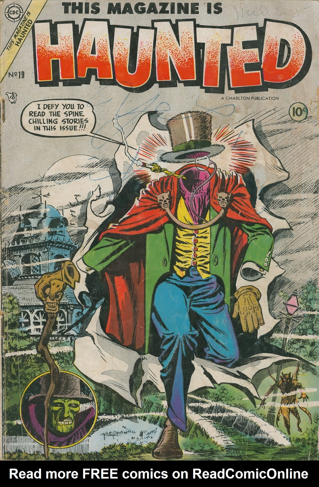 Read online This Magazine Is Haunted comic -  Issue #19 - 1