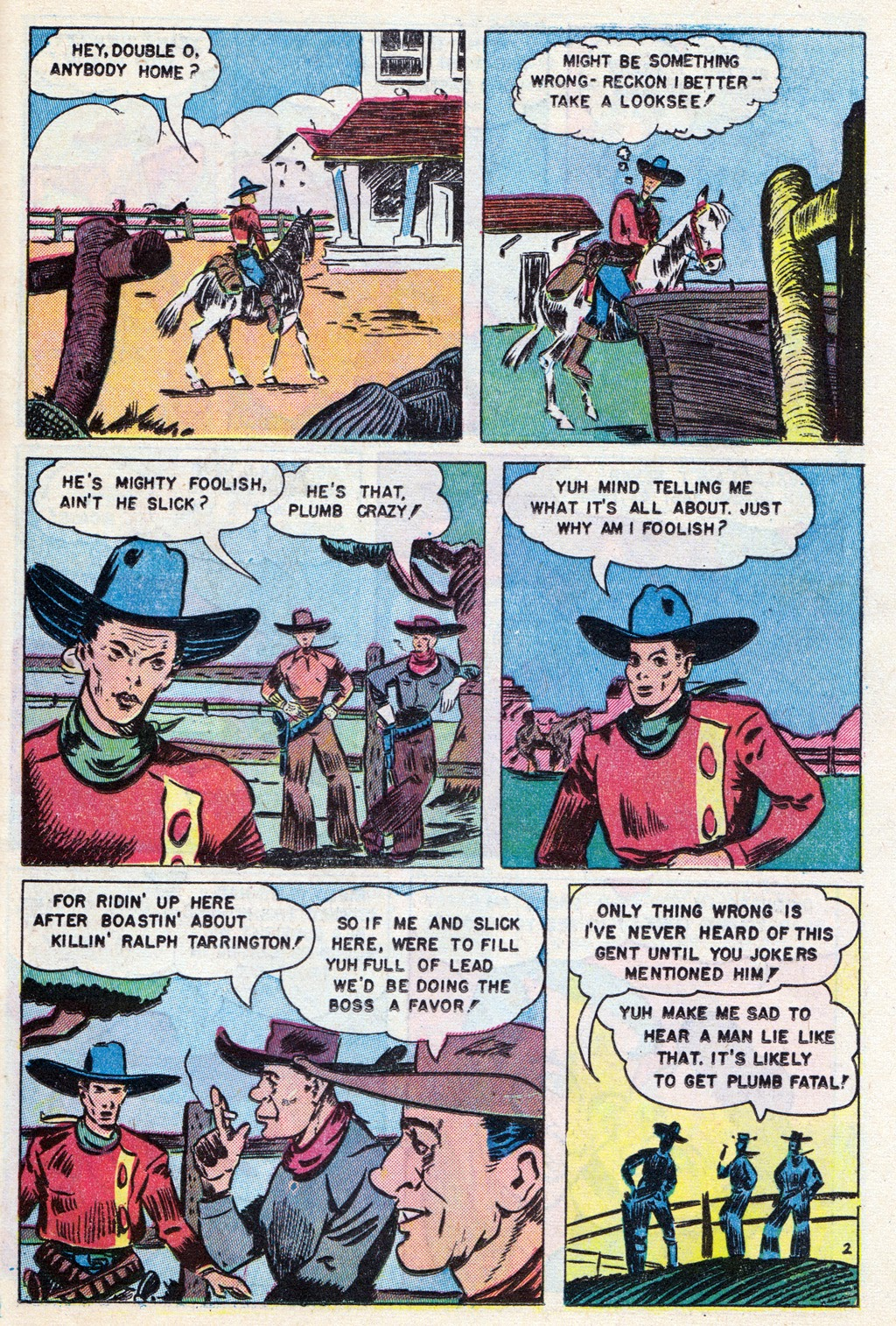 Cowboy Western Comics (1948) issue 18 - Page 25