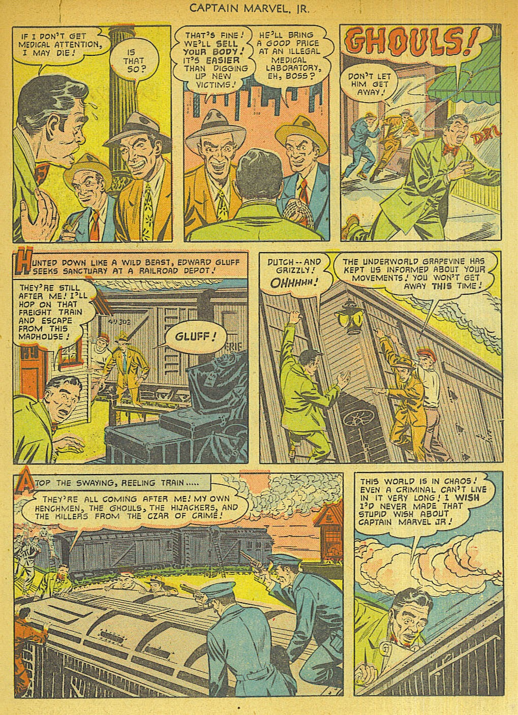 Captain Marvel, Jr. issue 96 - Page 11