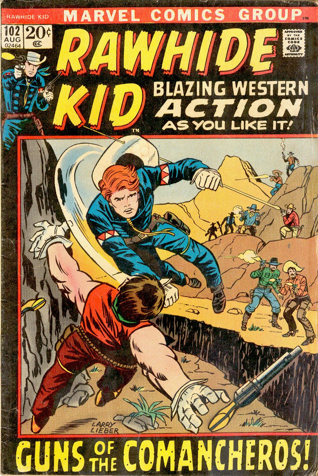 The Rawhide Kid (1955) issue 102 - Page 1