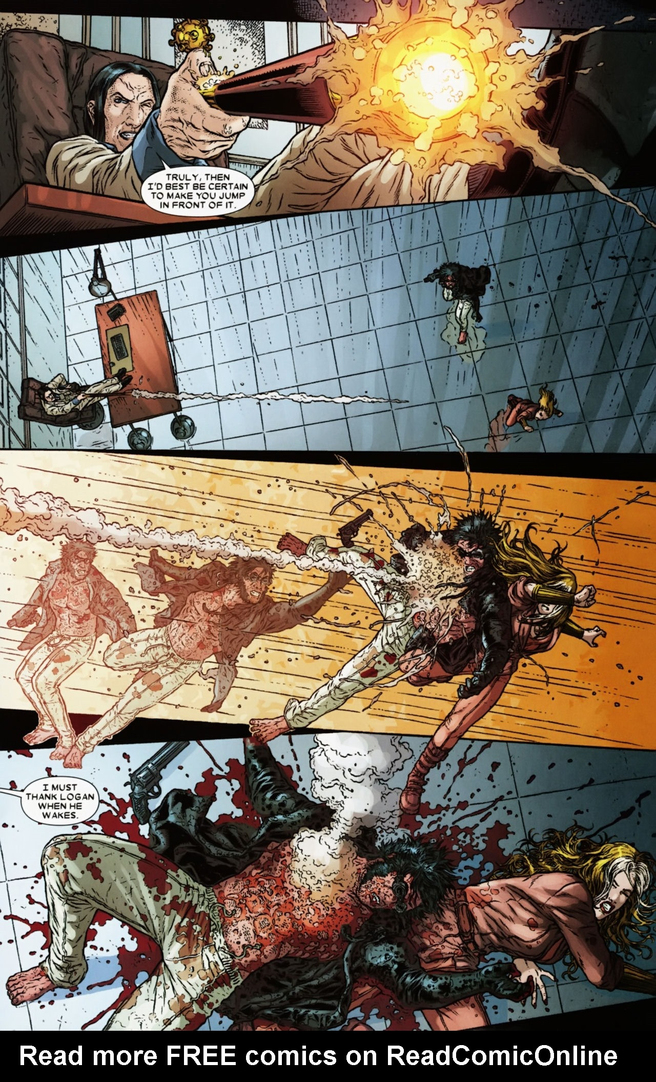 Read online Wolverine: The Best There Is comic -  Issue #6 - 17