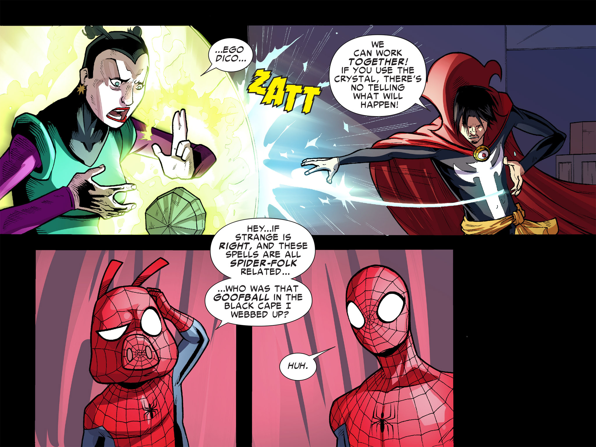 Read online Ultimate Spider-Man (Infinite Comics) (2016) comic -  Issue #9 - 58