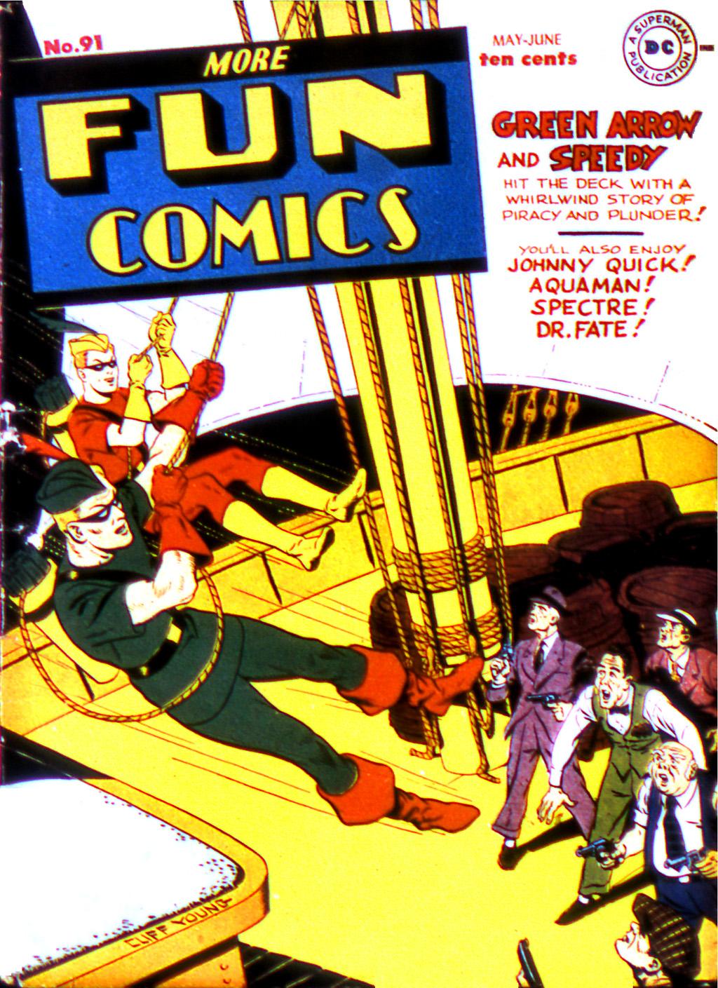 More Fun Comics 91 Page 1