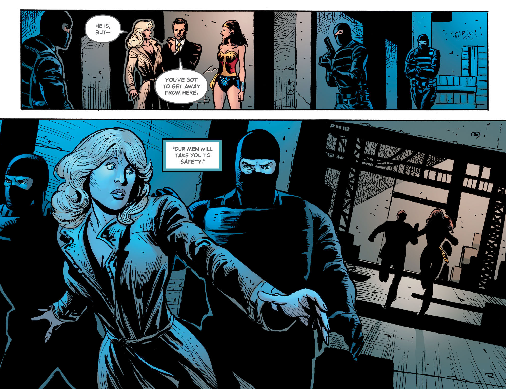 Read online Wonder Woman '77 [I] comic -  Issue #21 - 16