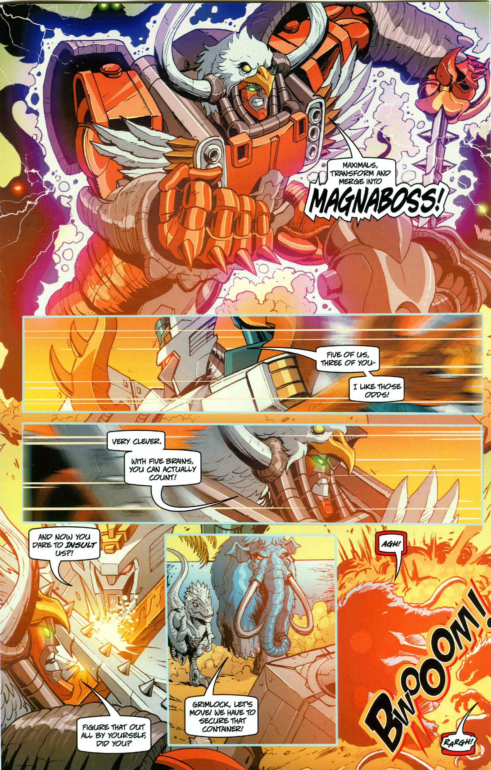 Read online Transformers: Collectors' Club comic -  Issue #52 - 11