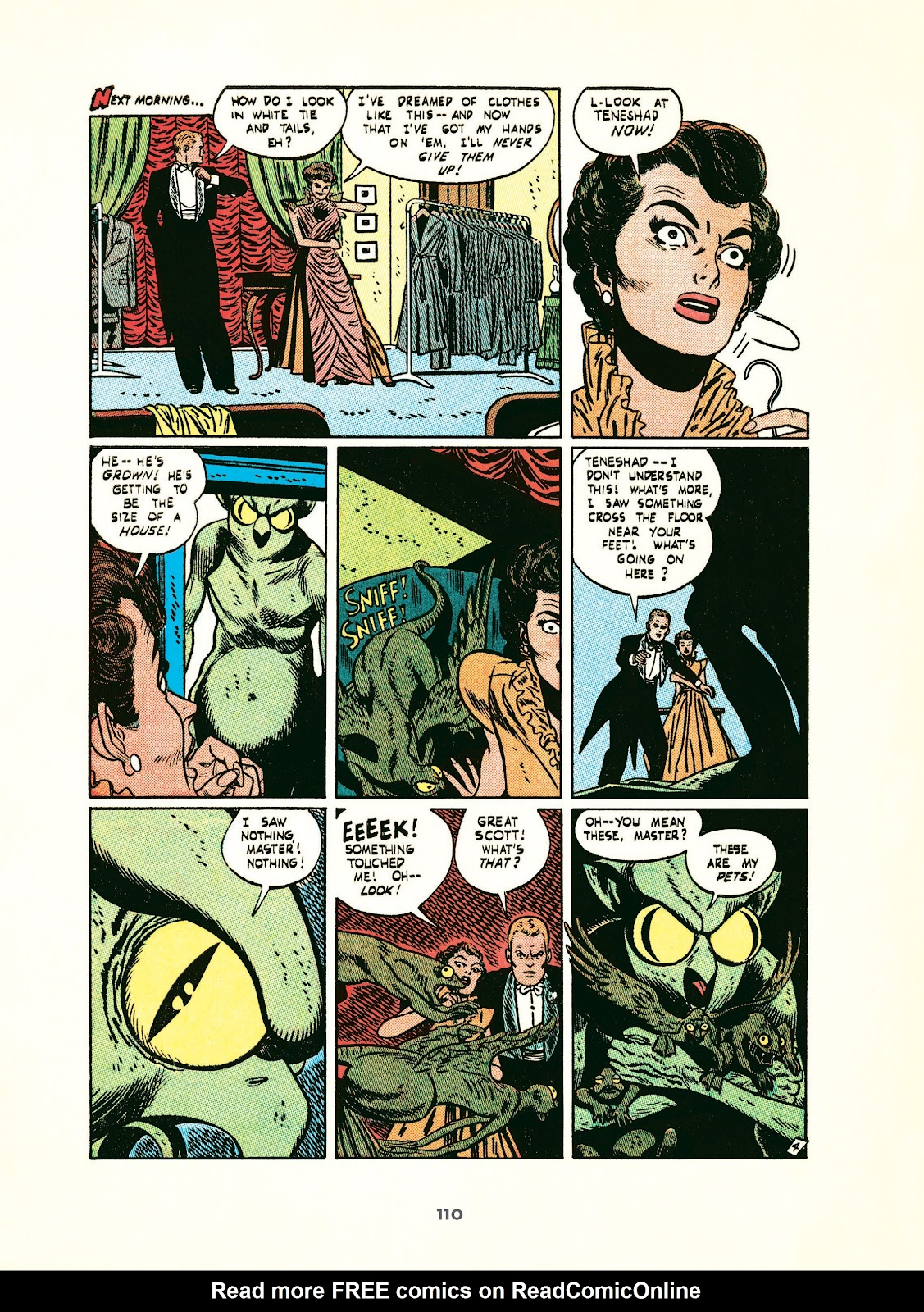 Read online Setting the Standard: Comics by Alex Toth 1952-1954 comic -  Issue # TPB (Part 2) - 11