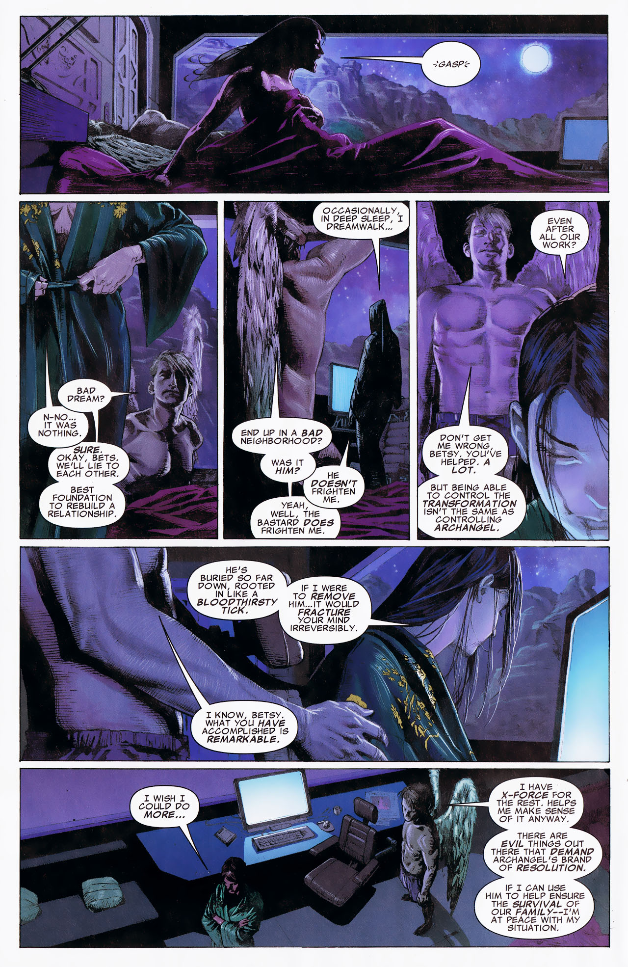 Read online Uncanny X-Force: The Apocalypse Solution comic -  Issue # Full - 10