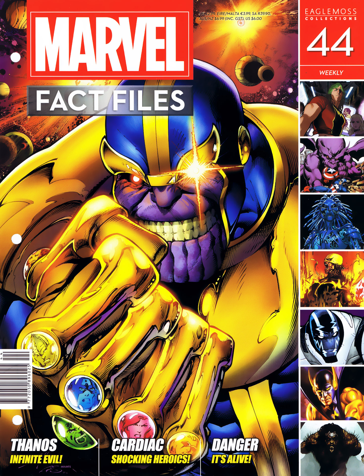 Marvel Fact Files 44 Page 1
