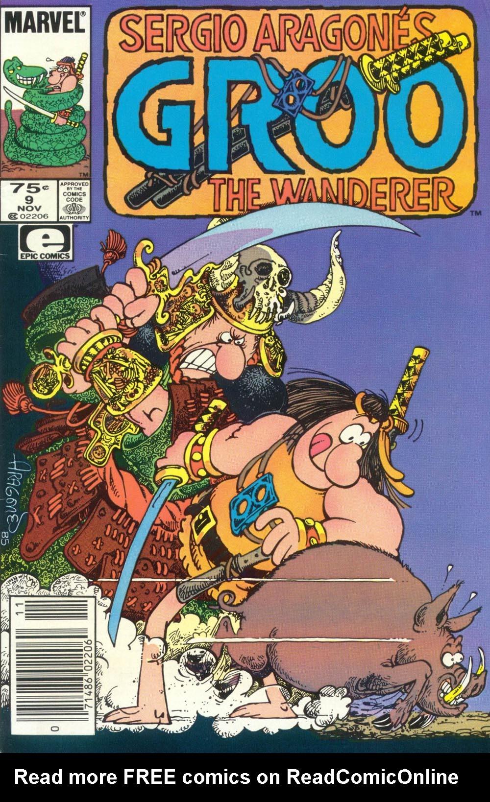 Read online Sergio Aragonés Groo the Wanderer comic -  Issue #9 - 1