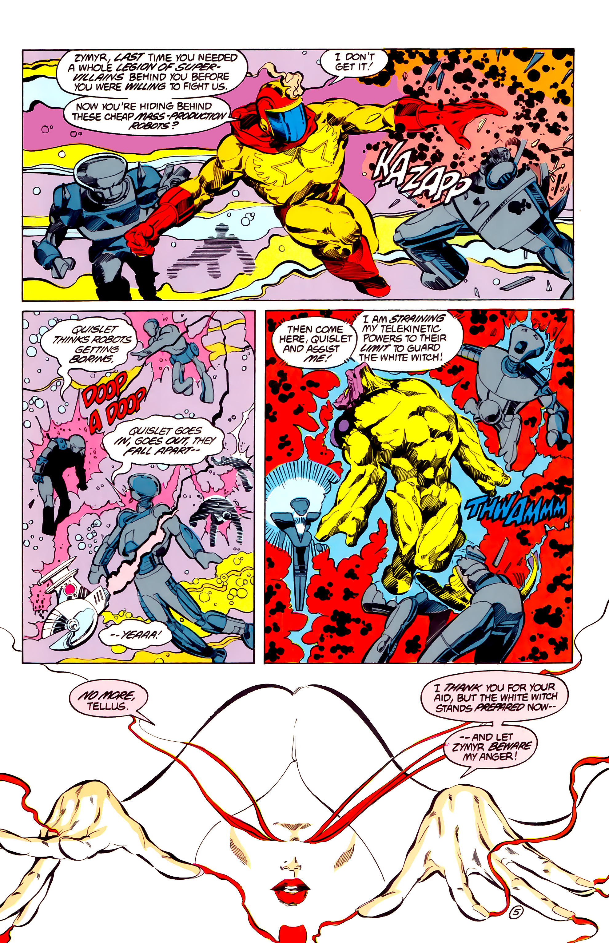 Legion of Super-Heroes (1984) 33 Page 5