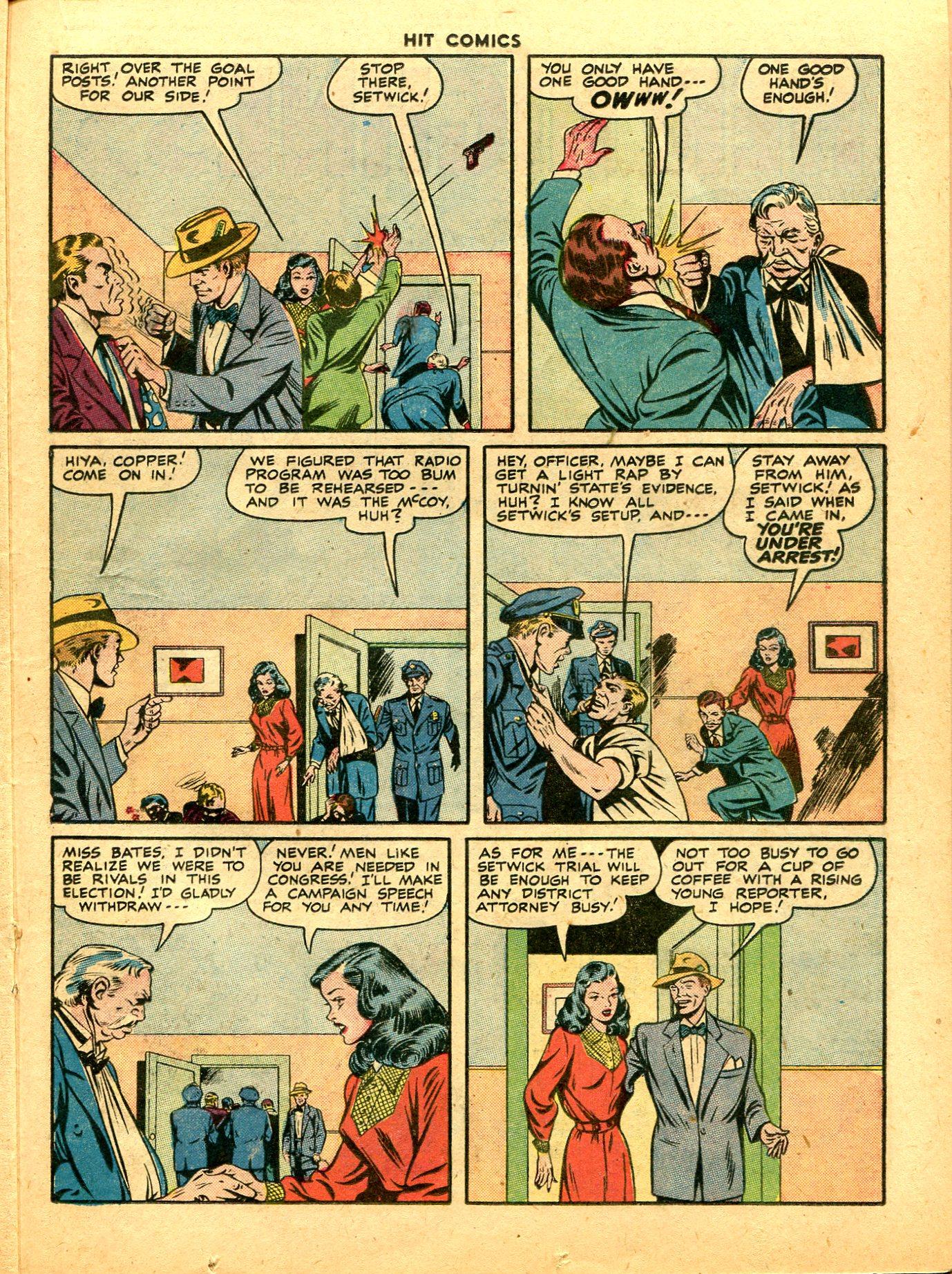 Read online Hit Comics comic -  Issue #49 - 31
