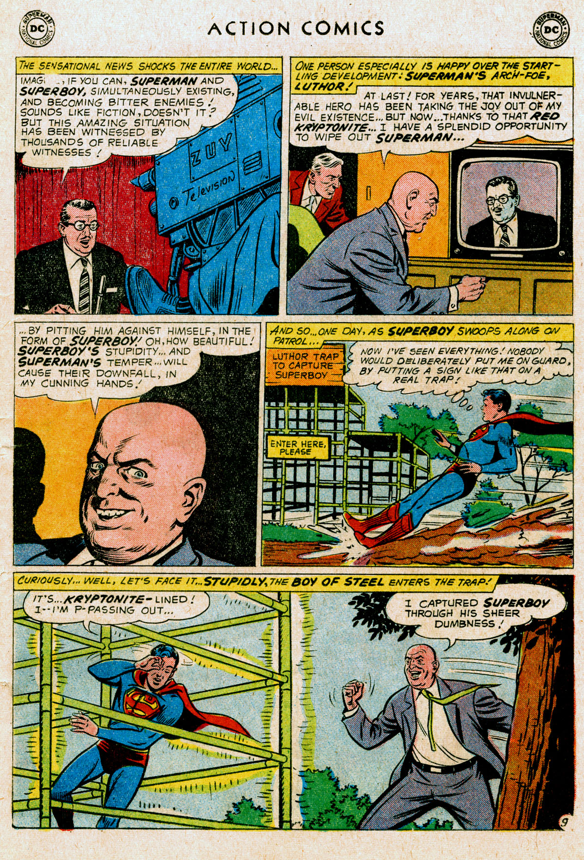 Action Comics (1938) 259 Page 10