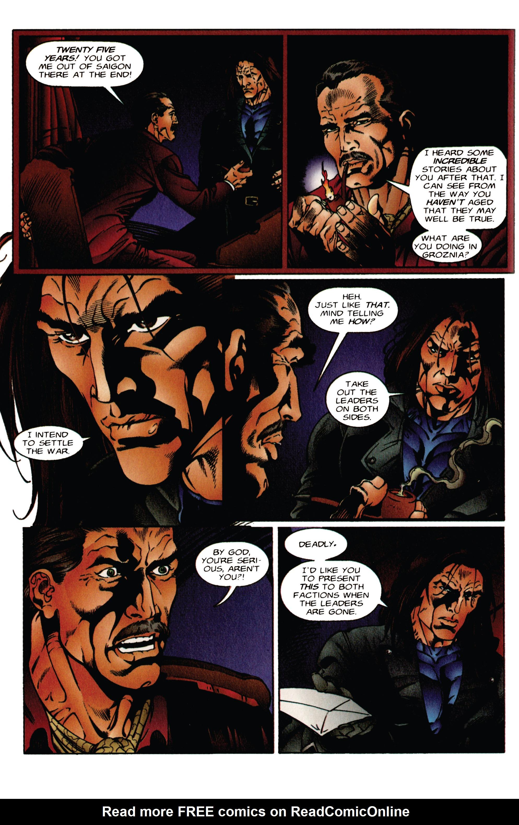 Read online Eternal Warrior (1992) comic -  Issue #41 - 11