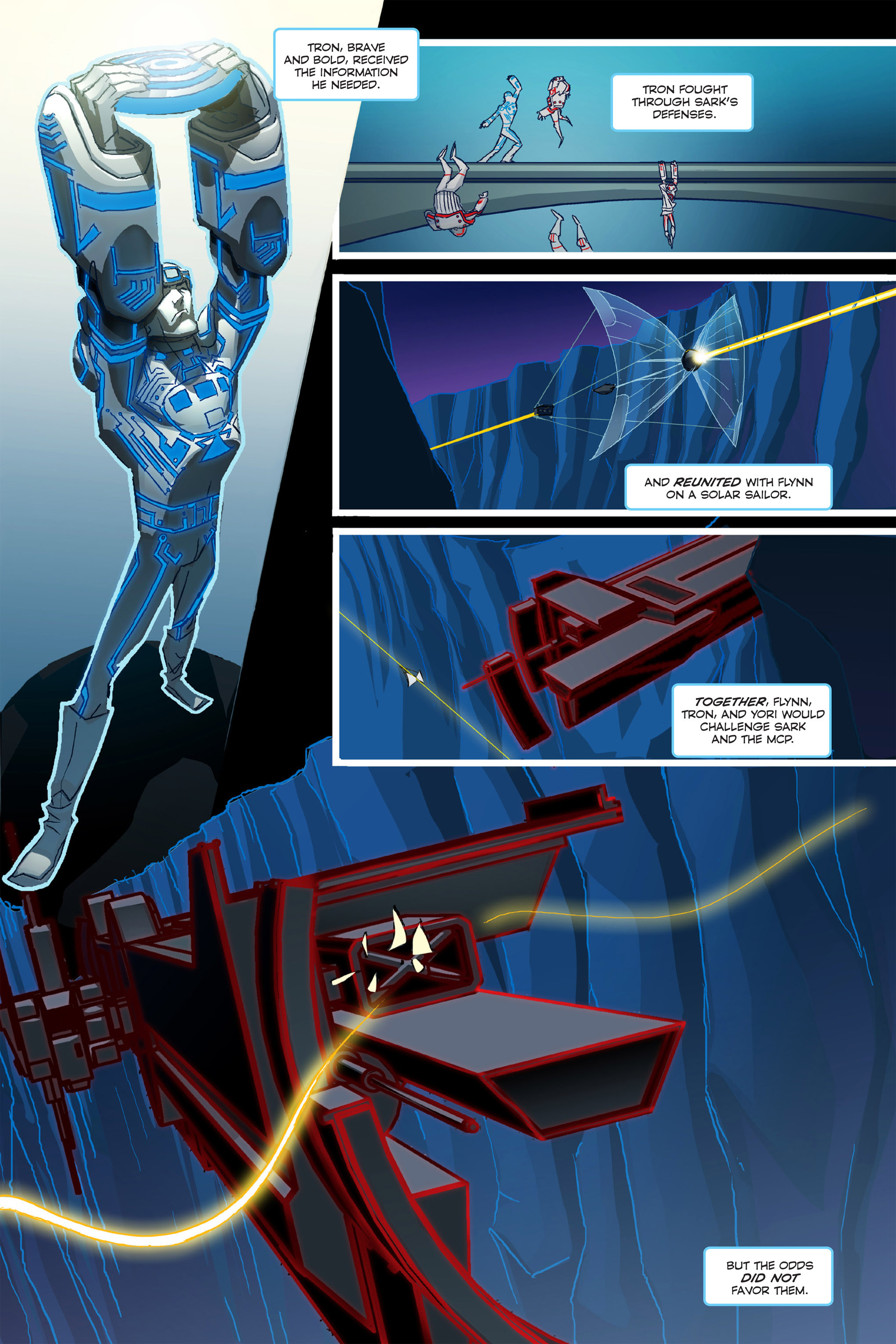 Read online TRON: Betrayal comic -  Issue # TPB - 9