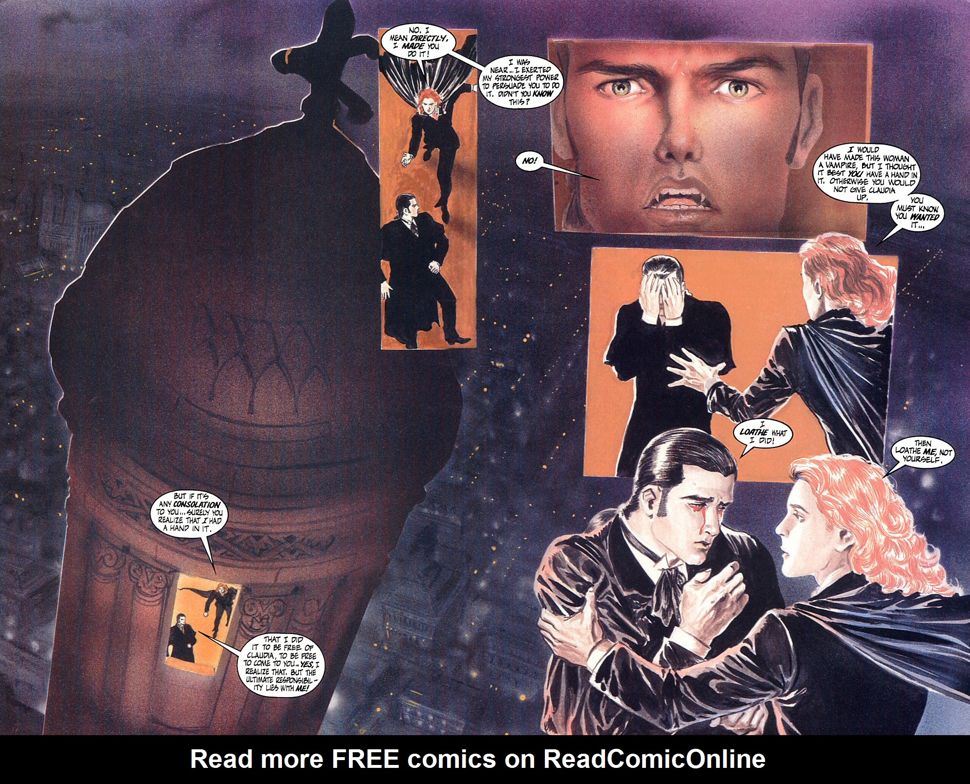 Read online Anne Rice's Interview with the Vampire comic -  Issue #10 - 18