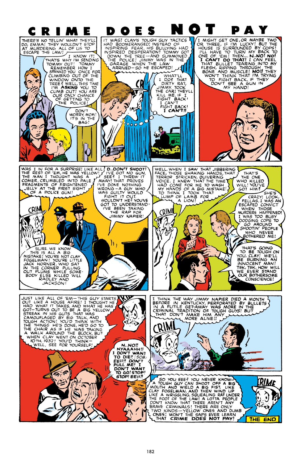 Read online Crime Does Not Pay Archives comic -  Issue # TPB 10 (Part 2) - 83