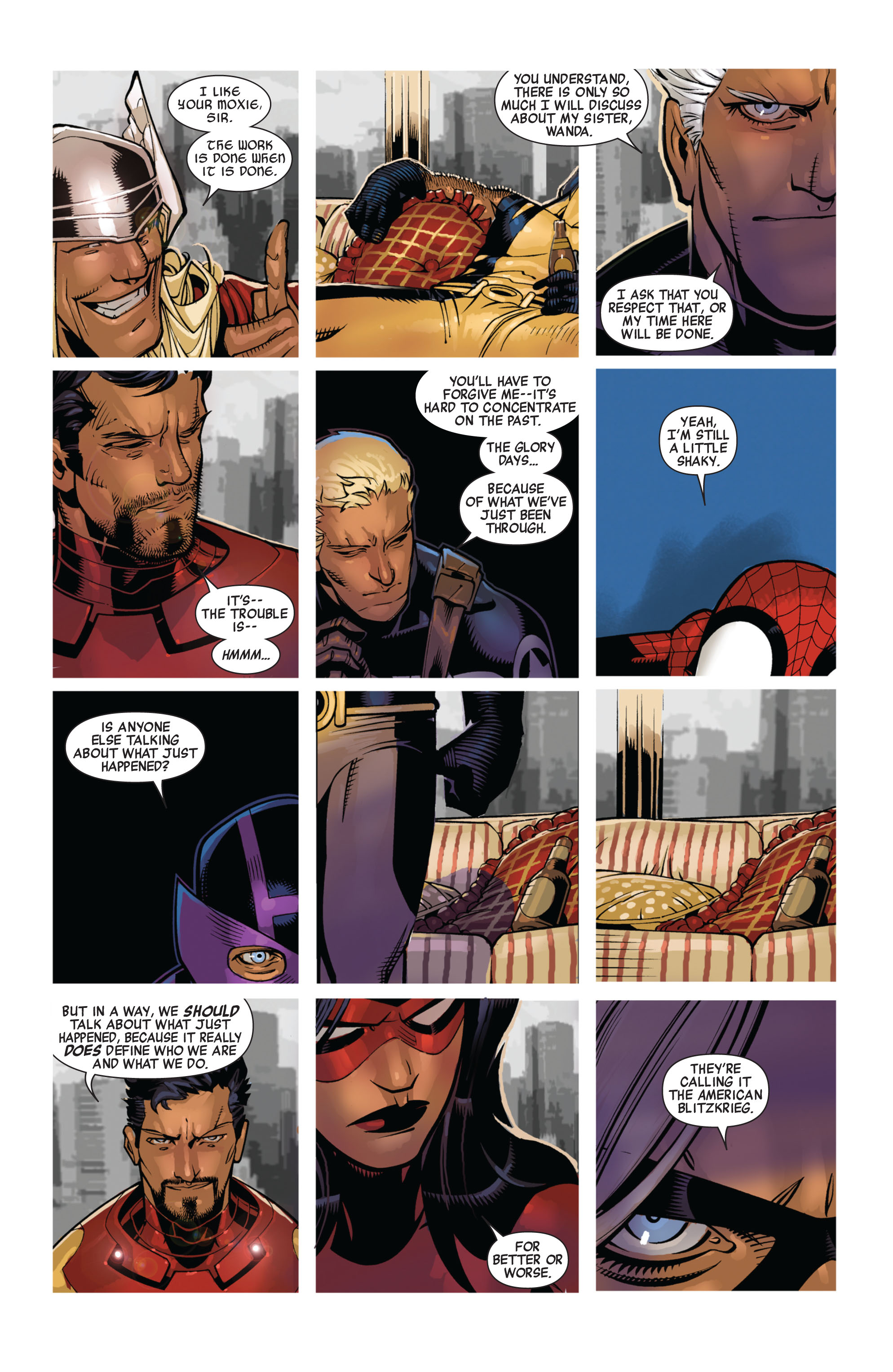 Read online Avengers (2010) comic -  Issue #13 - 5
