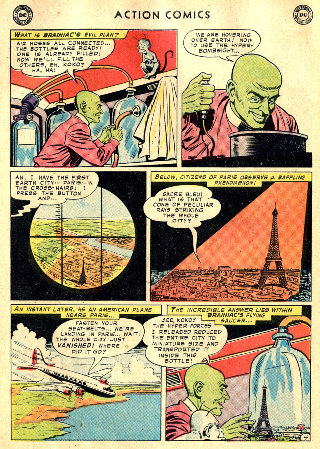 Read online Action Comics (1938) comic -  Issue #242 - 6