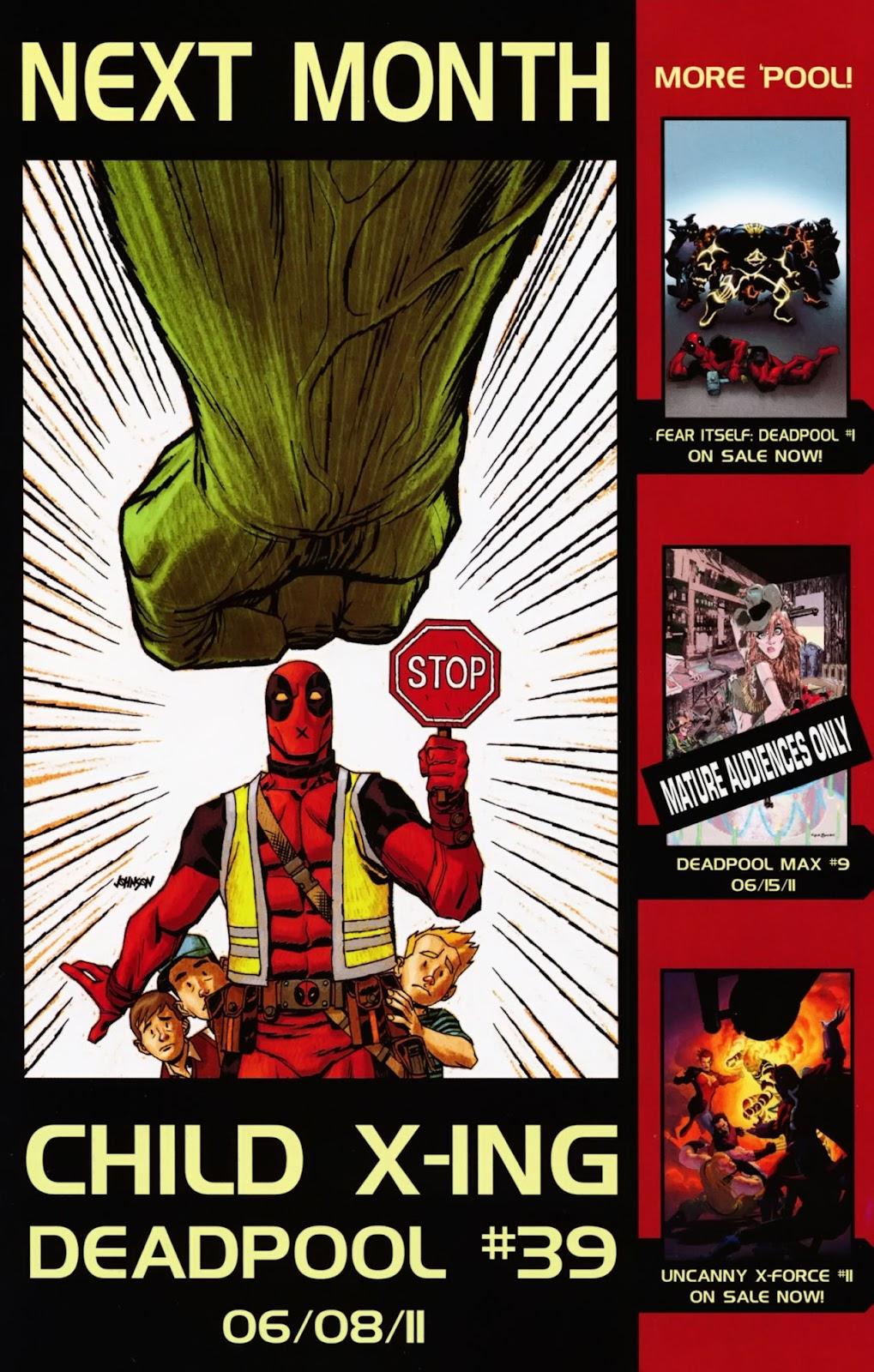 Read online Deadpool (2008) comic -  Issue #38 - 20