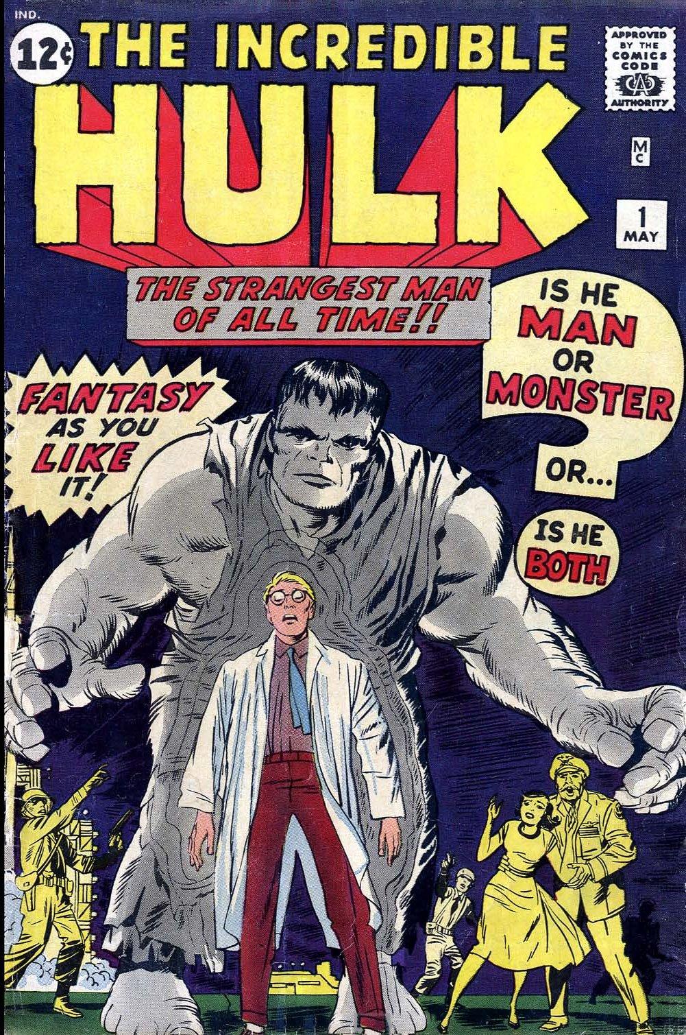 The Incredible Hulk (1962) 1 Page 1