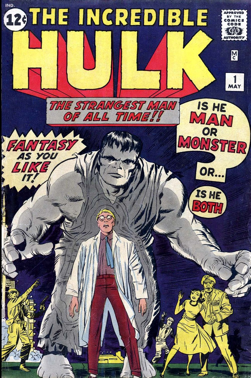 The Incredible Hulk (1962) issue 1 - Page 1