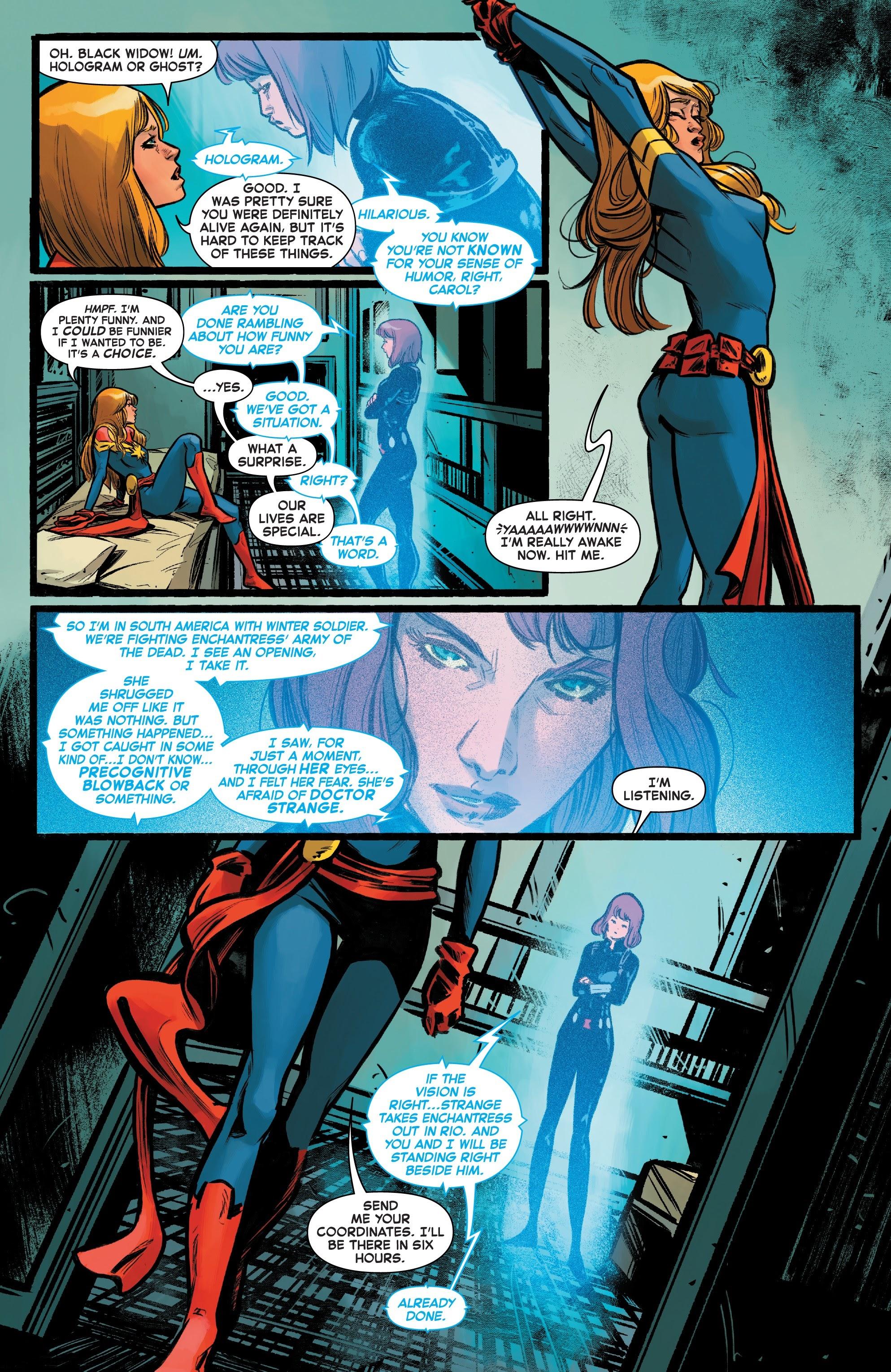 Read online Captain Marvel (2019) comic -  Issue #6 - 8