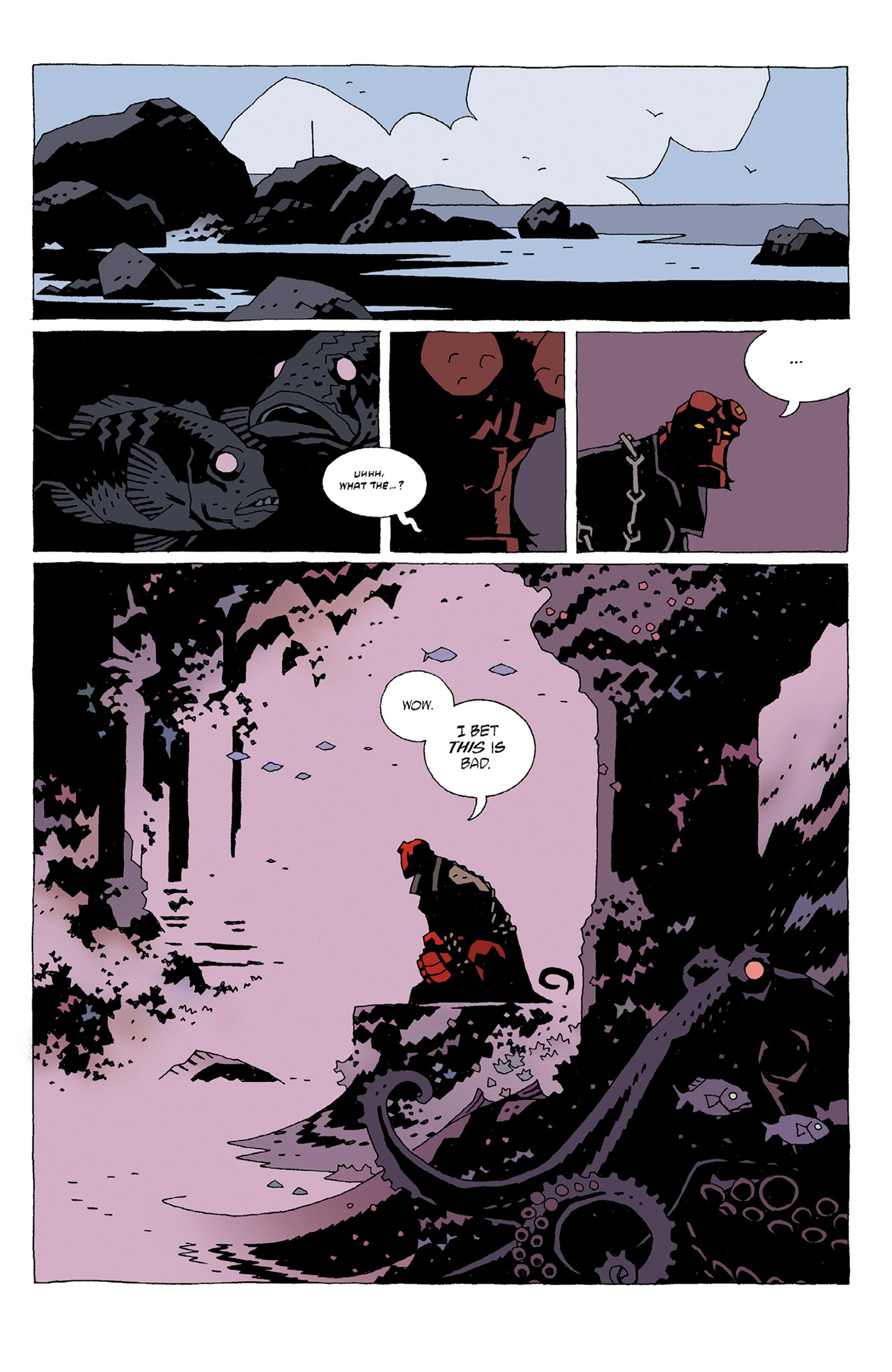 Read online Hellboy: Strange Places comic -  Issue # TPB - 25