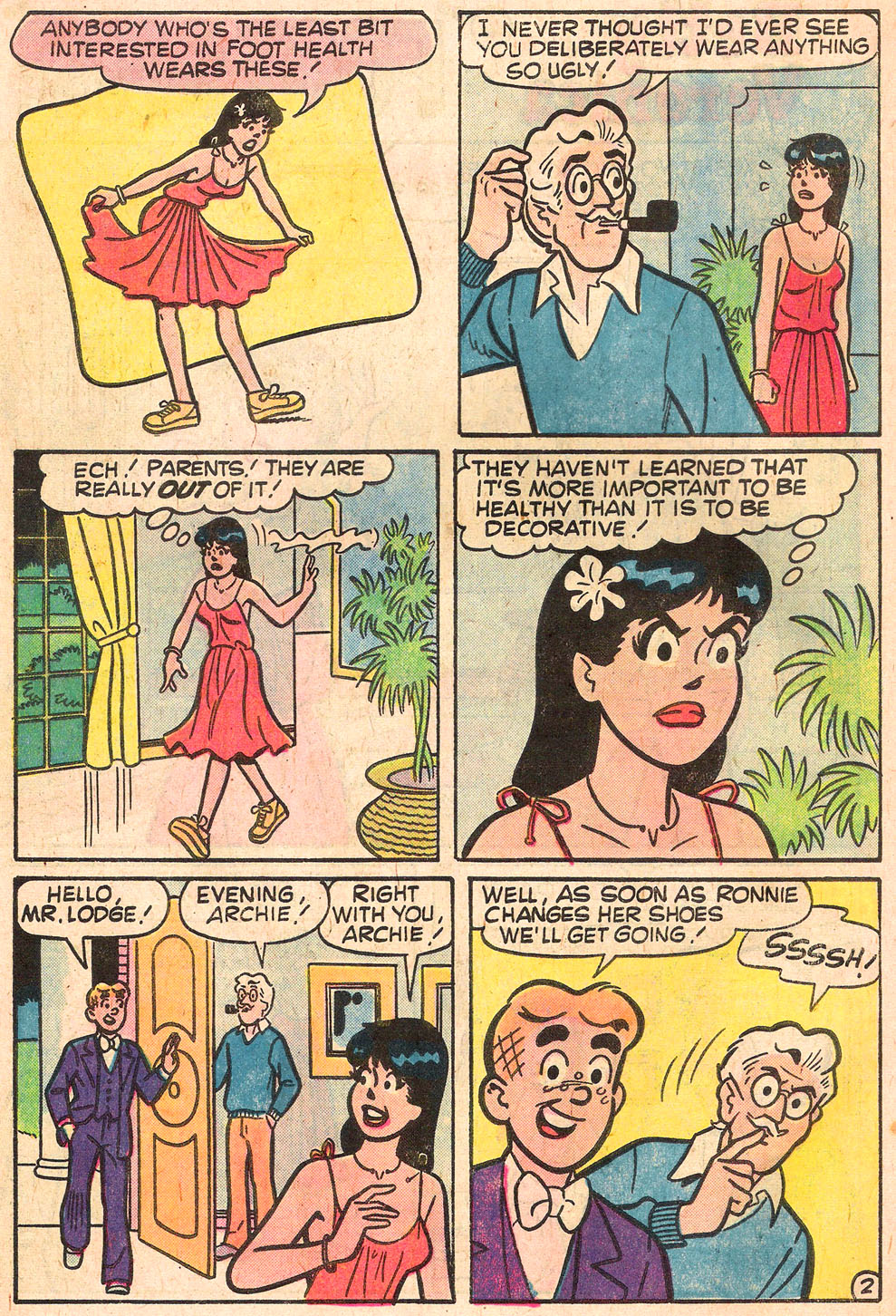 Read online Archie's Girls Betty and Veronica comic -  Issue #268 - 30