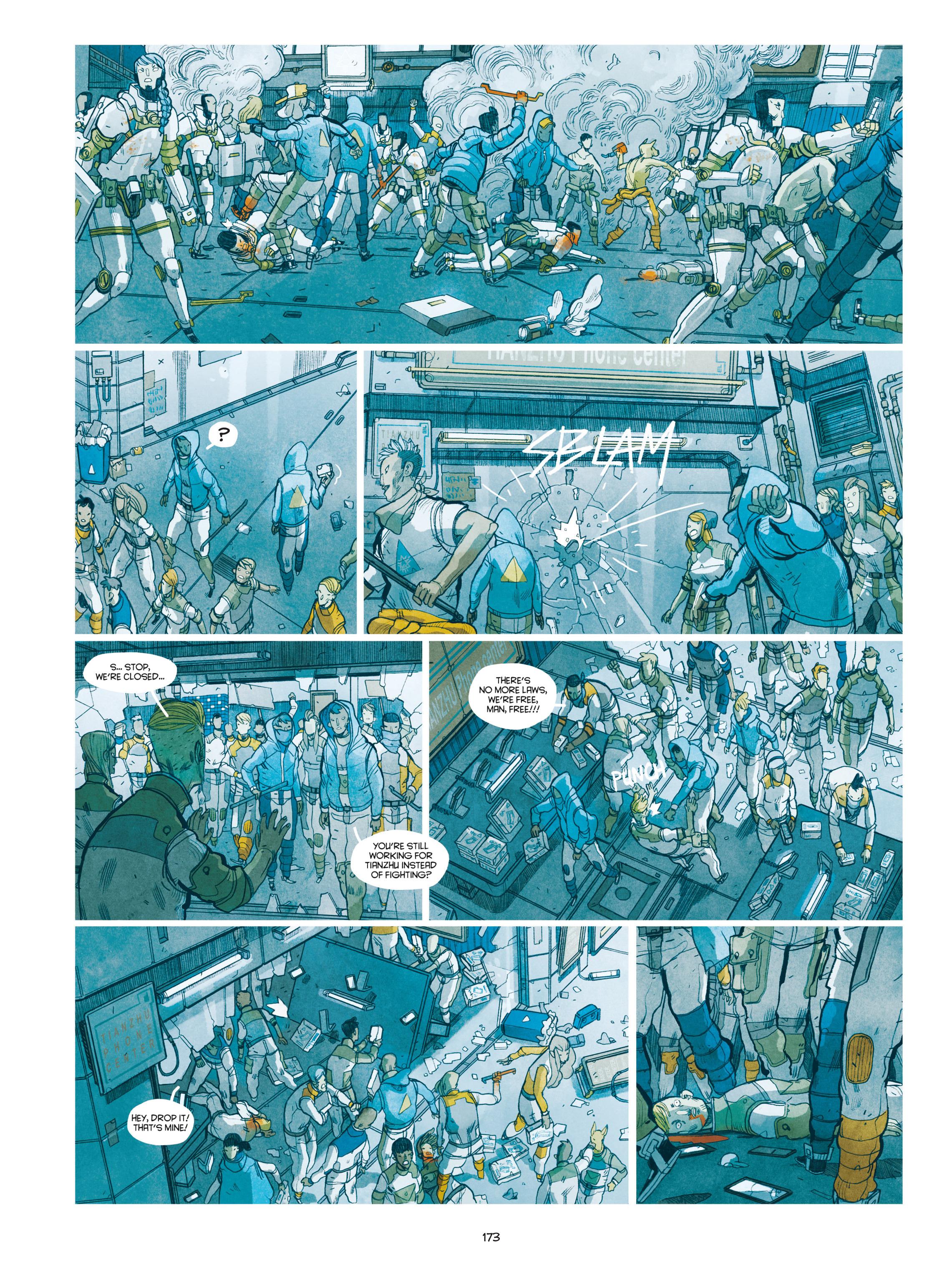 Read online Shangri-La comic -  Issue # Full - 174